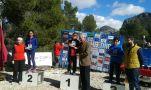 Paula Puche, 2º en open amarillo y Raúl Puche, 3º